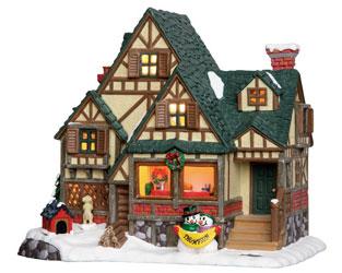 Подарки сувениры Сувениры рождественские домики Новогодние